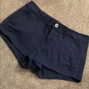 Bullhead low rise jean shorts